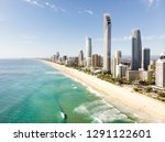 gold coast from the air. | Shutterstock . vector #1291122601