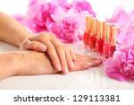 beauty treatment photo of nice... | Shutterstock . vector #129113381
