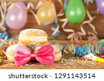 carnival background with party... | Shutterstock . vector #1291143514