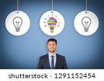 idea creative concepts with... | Shutterstock . vector #1291152454