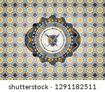 swords crossed with shield icon ... | Shutterstock .eps vector #1291182511