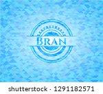 bran sky blue mosaic emblem | Shutterstock .eps vector #1291182571