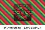 sos christmas emblem. | Shutterstock .eps vector #1291188424
