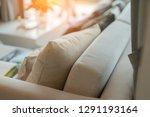 contemporary interior of living ... | Shutterstock . vector #1291193164