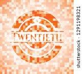 twentieth abstract emblem ... | Shutterstock .eps vector #1291198321