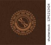 cd or dvd disc icon inside... | Shutterstock .eps vector #1291212424