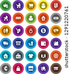 white solid icon set  cart... | Shutterstock .eps vector #1291220761
