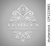 letter j logo   classic  ... | Shutterstock .eps vector #1291223881