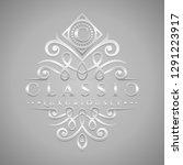letter c logo   classic  ... | Shutterstock .eps vector #1291223917