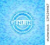genuine realistic sky blue... | Shutterstock .eps vector #1291244467