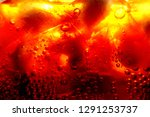 close up of carbonated drink  ... | Shutterstock . vector #1291253737