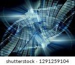 abstract digital art background.... | Shutterstock . vector #1291259104