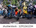 batu caves  malaysia january 21 ... | Shutterstock . vector #1291261234