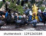batu caves  malaysia january 21 ... | Shutterstock . vector #1291263184