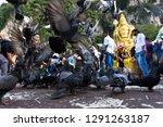 batu caves  malaysia january 21 ... | Shutterstock . vector #1291263187