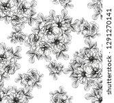 flower print. elegance seamless ...   Shutterstock . vector #1291270141