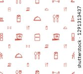 menu icons pattern seamless...   Shutterstock .eps vector #1291313437