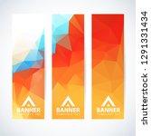 vector design template set of... | Shutterstock .eps vector #1291331434
