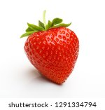red berry strawberry isolated... | Shutterstock . vector #1291334794