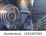 scrum agile software...   Shutterstock . vector #1291337401