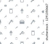 cut icons pattern seamless... | Shutterstock .eps vector #1291350667