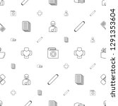 bandage icons pattern seamless... | Shutterstock .eps vector #1291353604