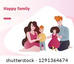web page design templates for...   Shutterstock .eps vector #1291364674