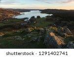 winter evening on loughrigg... | Shutterstock . vector #1291402741
