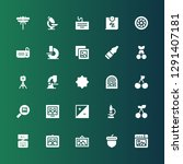 macro icon set. collection of... | Shutterstock .eps vector #1291407181
