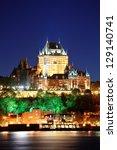 Quebec City Skyline At Dusk...