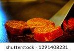 super delicious kobe steak set... | Shutterstock . vector #1291408231