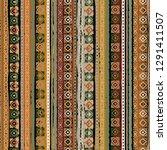 ethnic boho seamless pattern.... | Shutterstock .eps vector #1291411507