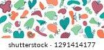 vector abstract creative... | Shutterstock .eps vector #1291414177
