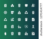 conservation icon set.... | Shutterstock .eps vector #1291414777