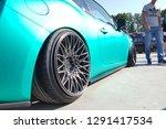 moscow. summer 2018. aquamarine ...   Shutterstock . vector #1291417534