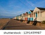 Line Of Colourful Beach Huts O...