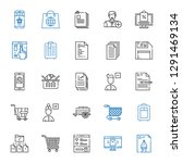 add icons set. collection of... | Shutterstock .eps vector #1291469134