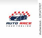 racing car  vector sports car... | Shutterstock .eps vector #1291471927