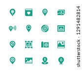 album icon set. collection of... | Shutterstock .eps vector #1291482814