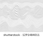 warped stripes.wavy lines... | Shutterstock . vector #1291484011