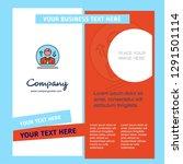 avatar company brochure... | Shutterstock .eps vector #1291501114