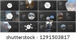 minimal presentations design ...   Shutterstock .eps vector #1291503817