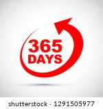 three hundred and sixty five... | Shutterstock .eps vector #1291505977