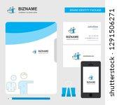 avatar business logo  file... | Shutterstock .eps vector #1291506271