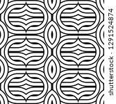 design seamless monochrome...   Shutterstock .eps vector #1291524874