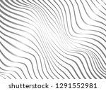 warped lines.gradient warped... | Shutterstock . vector #1291552981