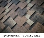 roof covered by hexagonal soft... | Shutterstock . vector #1291594261