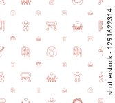 childhood icons pattern... | Shutterstock .eps vector #1291622314