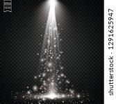 sparks and stars glitter... | Shutterstock .eps vector #1291625947