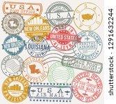 new orleans louisiana. stamp.... | Shutterstock .eps vector #1291632244